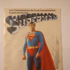 Coleccionismo Álbum: ALBUM SUPERMAN COCA COLA COMPLETO BUEN ESTADO ORIGINAL. Lote 235320745