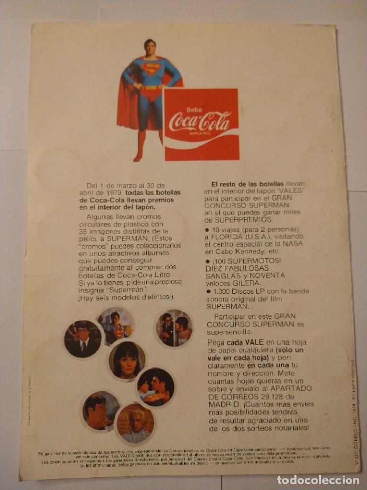 Coleccionismo Álbum: ALBUM SUPERMAN COCA COLA COMPLETO BUEN ESTADO ORIGINAL - Foto 2 - 235320745