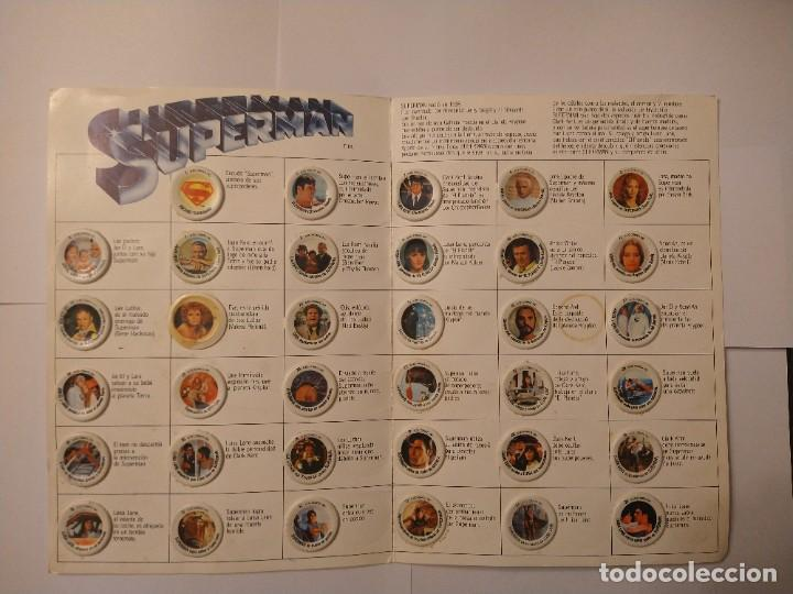 Coleccionismo Álbum: ALBUM SUPERMAN COCA COLA COMPLETO BUEN ESTADO ORIGINAL - Foto 3 - 235320745