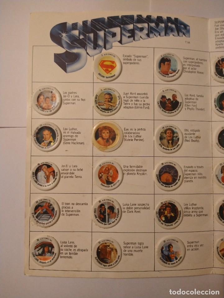 Coleccionismo Álbum: ALBUM SUPERMAN COCA COLA COMPLETO BUEN ESTADO ORIGINAL - Foto 5 - 235320745