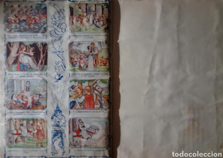 Coleccionismo Álbum: Blanca Nieves y los siete enanos .Colección completa 216 cromos.Editorial Fher 1941 - Foto 2 - 235826885