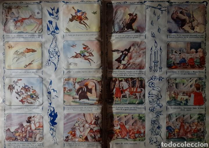 Coleccionismo Álbum: Blanca Nieves y los siete enanos .Colección completa 216 cromos.Editorial Fher 1941 - Foto 5 - 235826885