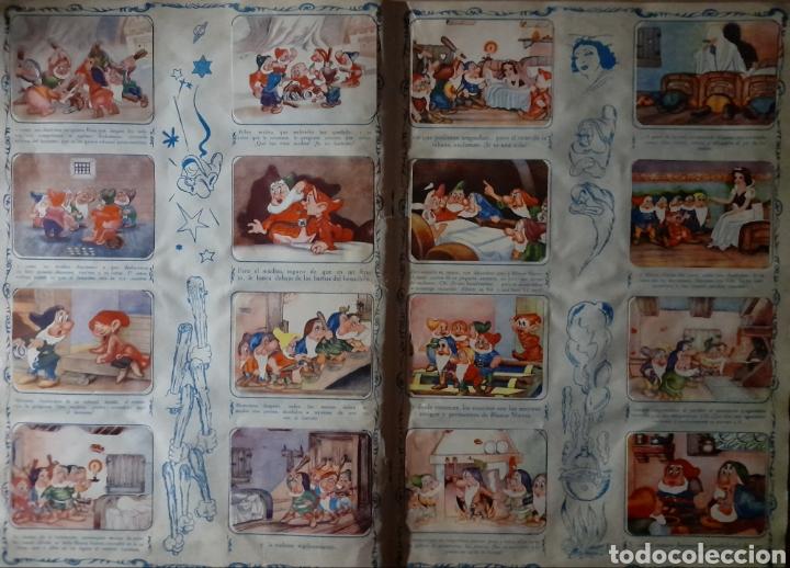 Coleccionismo Álbum: Blanca Nieves y los siete enanos .Colección completa 216 cromos.Editorial Fher 1941 - Foto 7 - 235826885