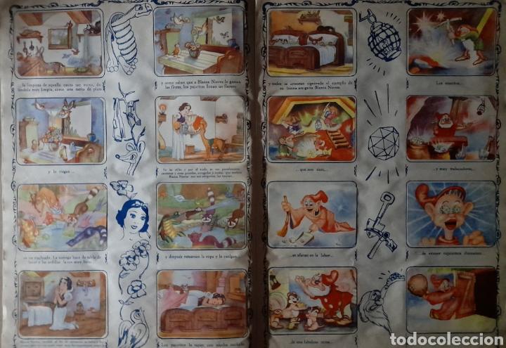 Coleccionismo Álbum: Blanca Nieves y los siete enanos .Colección completa 216 cromos.Editorial Fher 1941 - Foto 8 - 235826885