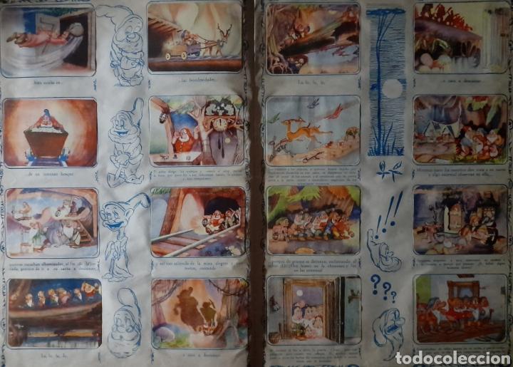 Coleccionismo Álbum: Blanca Nieves y los siete enanos .Colección completa 216 cromos.Editorial Fher 1941 - Foto 9 - 235826885