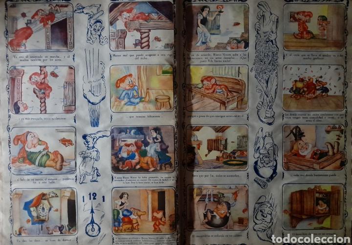 Coleccionismo Álbum: Blanca Nieves y los siete enanos .Colección completa 216 cromos.Editorial Fher 1941 - Foto 10 - 235826885