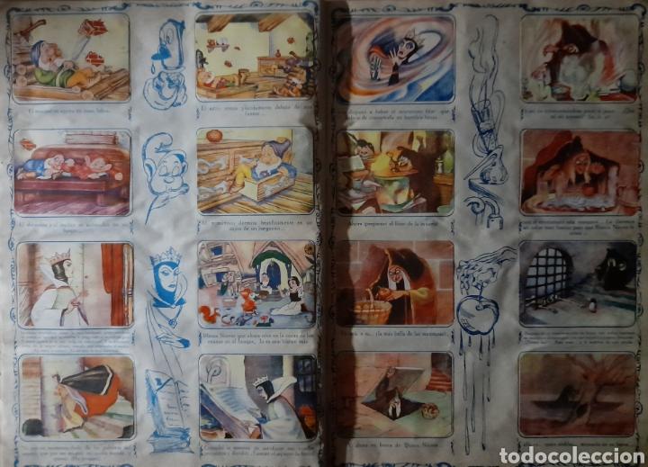 Coleccionismo Álbum: Blanca Nieves y los siete enanos .Colección completa 216 cromos.Editorial Fher 1941 - Foto 11 - 235826885