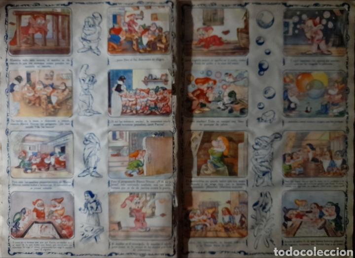 Coleccionismo Álbum: Blanca Nieves y los siete enanos .Colección completa 216 cromos.Editorial Fher 1941 - Foto 12 - 235826885