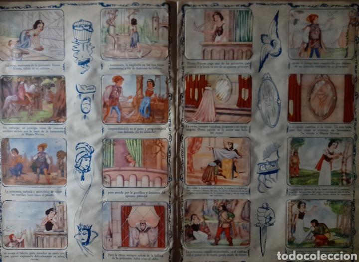 Coleccionismo Álbum: Blanca Nieves y los siete enanos .Colección completa 216 cromos.Editorial Fher 1941 - Foto 14 - 235826885