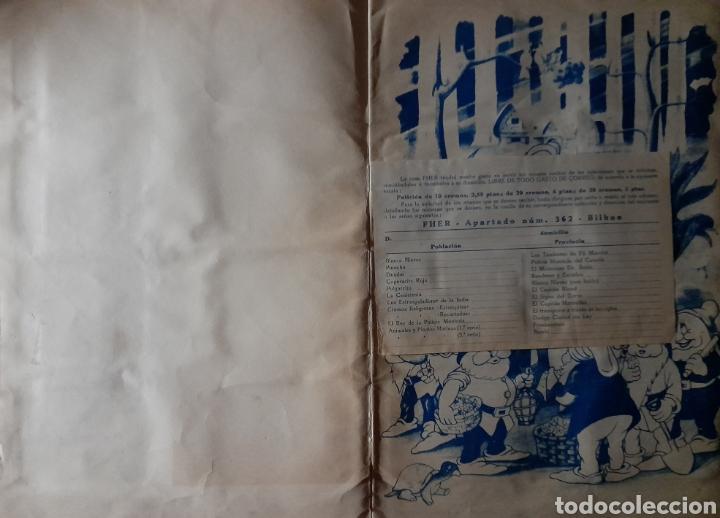 Coleccionismo Álbum: Blanca Nieves y los siete enanos .Colección completa 216 cromos.Editorial Fher 1941 - Foto 16 - 235826885