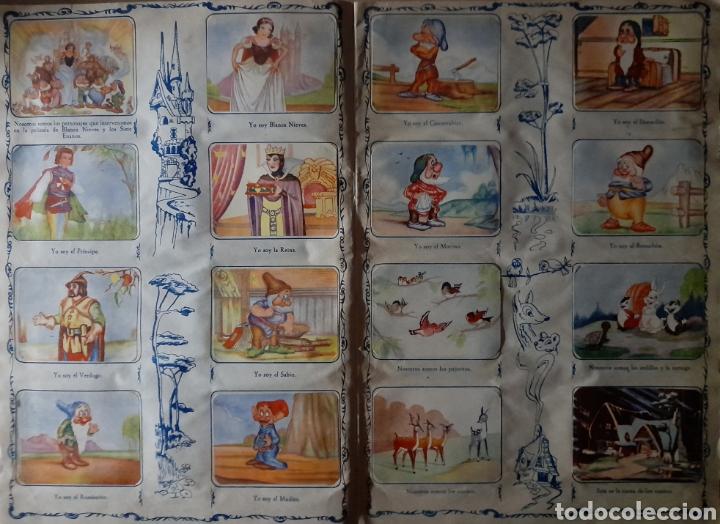Coleccionismo Álbum: Blanca Nieves y los siete enanos .Colección completa 216 cromos.Editorial Fher 1941 - Foto 17 - 235826885