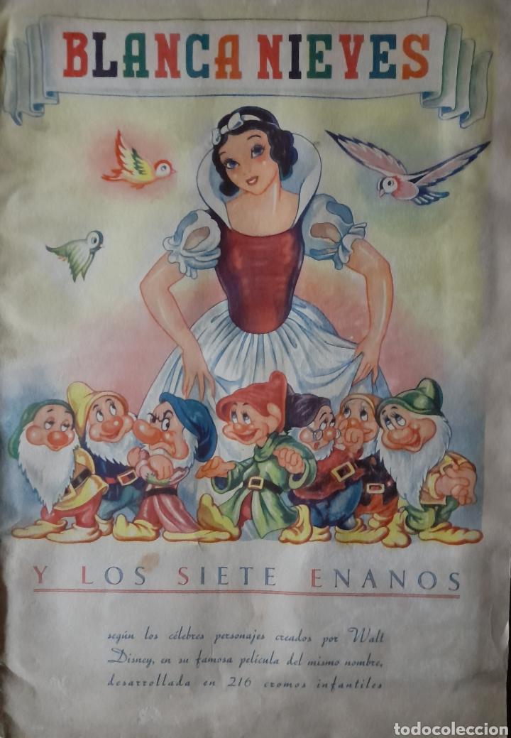 BLANCA NIEVES Y LOS SIETE ENANOS .COLECCIÓN COMPLETA 216 CROMOS.EDITORIAL FHER 1941 (Coleccionismo - Cromos y Álbumes - Álbumes Completos)