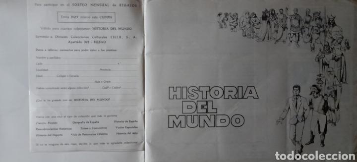 Coleccionismo Álbum: Historia del Mundo . Editorial Fher 1968 . Colección 350 cromos . Completo - Foto 20 - 235829155