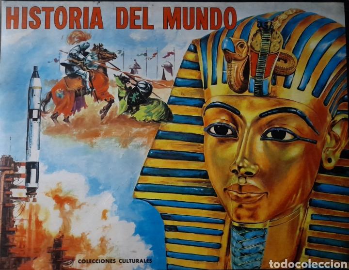 HISTORIA DEL MUNDO . EDITORIAL FHER 1968 . COLECCIÓN 350 CROMOS . COMPLETO (Coleccionismo - Cromos y Álbumes - Álbumes Completos)