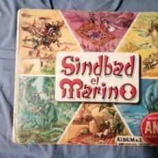 Coleccionismo Álbum: SIMBAD EL MARINO DESAYUNO SANA ÁLBUM NÚMERO 1. Lote 235842610