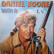 Coleccionismo Álbum: DANIEL BOONE TELEFILM DE T.V. EDITORIAL FHER AÑO 1966 . COLECCIÓN COMPLETA 162 CROMOS. Lote 235843255