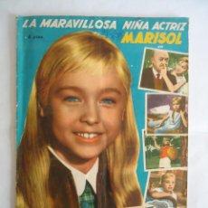 Coleccionismo Álbum: ALBUM DE CROMOS COMPLETO UN RAYO DE LUZ. MARISOL. AÑO 1960. EDITORIAL FHER. Lote 235958555
