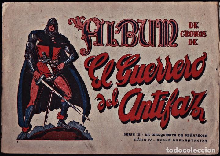 EL GUERRERO DEL ANTIFAZ-SERIES III Y IV (Coleccionismo - Cromos y Álbumes - Álbumes Completos)