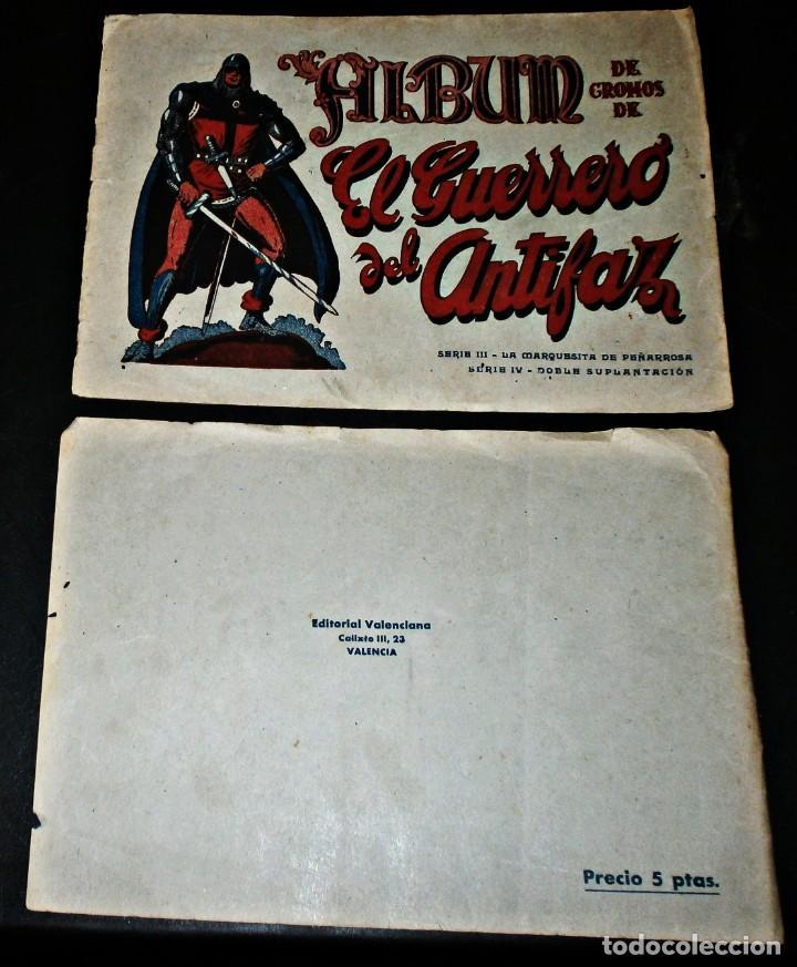 Coleccionismo Álbum: EL GUERRERO DEL ANTIFAZ-SERIES III Y IV - Foto 4 - 236057710