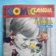 Coleccionismo Álbum: ALBUM COMICLANDIA 1972,SOLO FALTAN 4 CROMOS DE 96, MUY DIFICIL. Lote 236168685