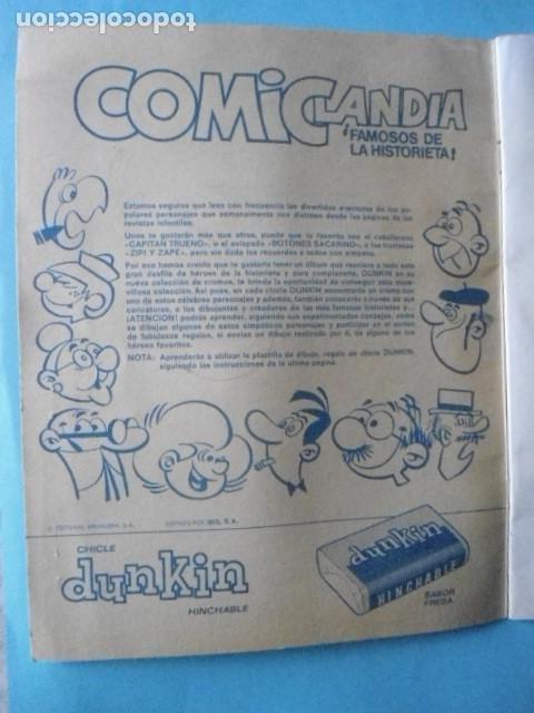 Coleccionismo Álbum: ALBUM COMICLANDIA 1972,SOLO FALTAN 4 CROMOS DE 96, MUY DIFICIL - Foto 2 - 236168685