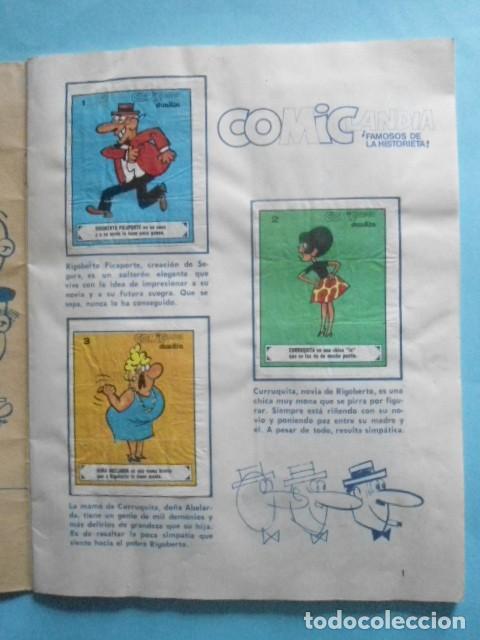 Coleccionismo Álbum: ALBUM COMICLANDIA 1972,SOLO FALTAN 4 CROMOS DE 96, MUY DIFICIL - Foto 3 - 236168685