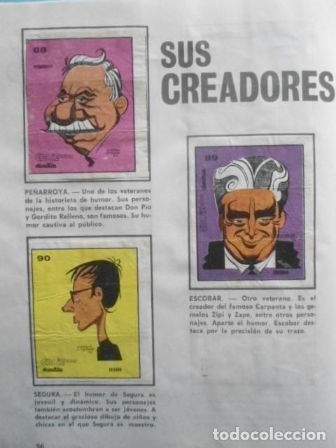 Coleccionismo Álbum: ALBUM COMICLANDIA 1972,SOLO FALTAN 4 CROMOS DE 96, MUY DIFICIL - Foto 30 - 236168685