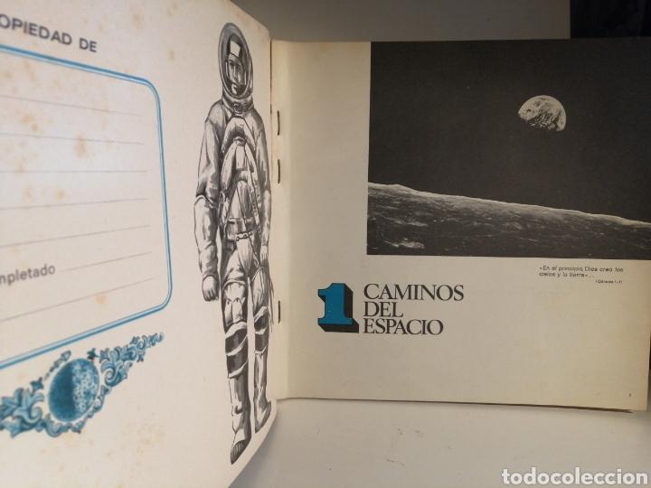 Coleccionismo Álbum: Album de cromos Completo CAMINOS DEL ESPACIO. QUESERIAS PICON y EKO - Foto 2 - 236253730