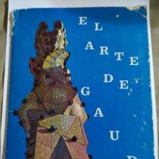 Coleccionismo Álbum: ÁLBUM COMPLETO EL ARTE DE GAUDÍ. Lote 236437660