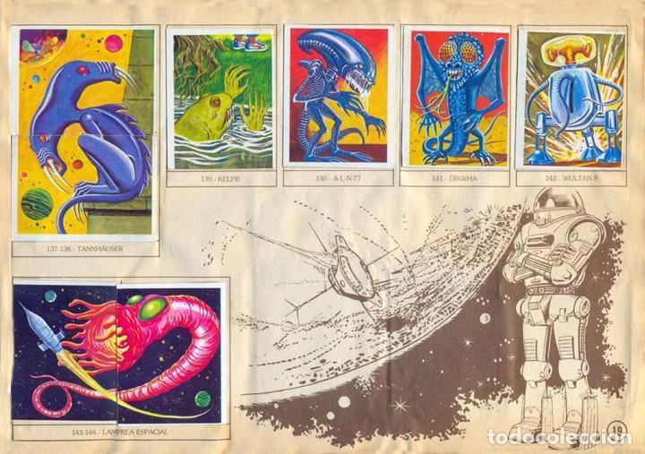 Coleccionismo Álbum: ALBUM CROMOS MONSTRUOS FACSIMIL NUEVO Y COMPLETO - Foto 7 - 236464675