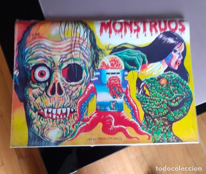 Coleccionismo Álbum: ALBUM CROMOS MONSTRUOS FACSIMIL NUEVO Y COMPLETO - Foto 9 - 236464675