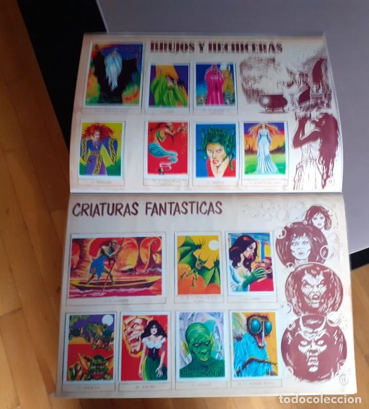 Coleccionismo Álbum: ALBUM CROMOS MONSTRUOS FACSIMIL NUEVO Y COMPLETO - Foto 10 - 236464675