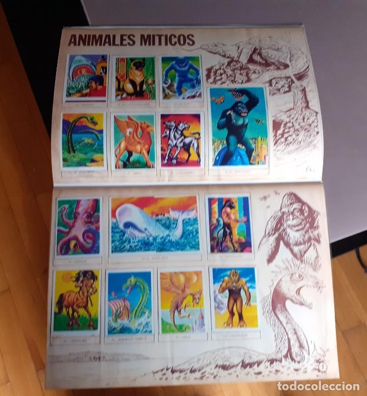 Coleccionismo Álbum: ALBUM CROMOS MONSTRUOS FACSIMIL NUEVO Y COMPLETO - Foto 11 - 236464675