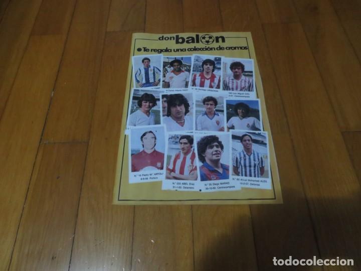 ALBUM CROMOS FUTBOL FACSIMIL 82-83 DON BALON NUEVO Y COMPLETO (Coleccionismo - Cromos y Álbumes - Álbumes Completos)