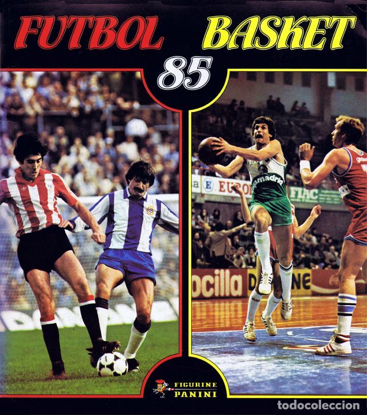 ALBUM FUTBOL FUTBOL BASKET 85 FACSIMIL COMPLETO Y NUEVO (Coleccionismo - Cromos y Álbumes - Álbumes Completos)