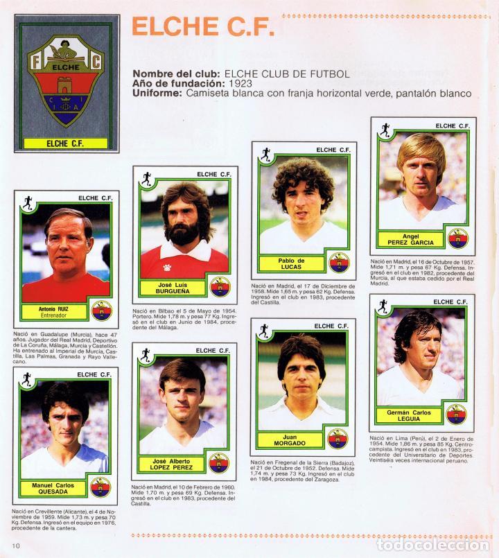 Coleccionismo Álbum: ALBUM FUTBOL FUTBOL BASKET 85 FACSIMIL COMPLETO Y NUEVO - Foto 6 - 236466520