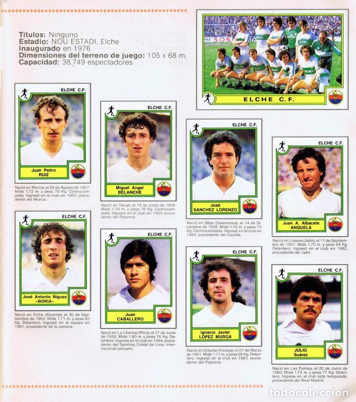Coleccionismo Álbum: ALBUM FUTBOL FUTBOL BASKET 85 FACSIMIL COMPLETO Y NUEVO - Foto 7 - 236466520