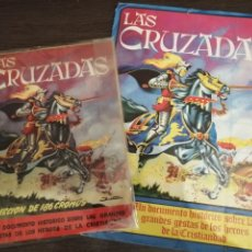 Coleccionismo Álbum: ALBUM DE CROMOS COMPLETO Y ALBUM CROMOS DESPLEGABLE LAS CRUZADAS . RUIZ ROMERO. Lote 192503717