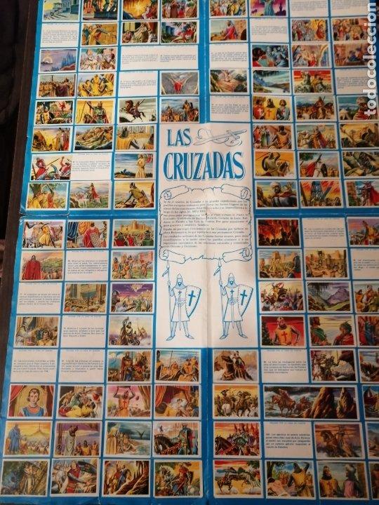 Coleccionismo Álbum: Album de cromos Completo y Album cromos desplegable LAS CRUZADAS . RUIZ ROMERO - Foto 9 - 192503717