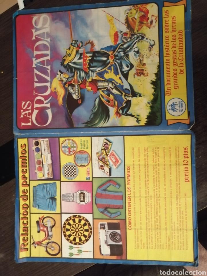 Coleccionismo Álbum: Album de cromos Completo y Album cromos desplegable LAS CRUZADAS . RUIZ ROMERO - Foto 2 - 192503717