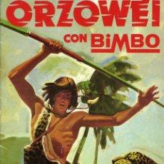 Coleccionismo Álbum: ALBUM ORZOWEI DE BIMBO 1978. COMPLETO EN MUY BUEN ESTADO.. Lote 236791170