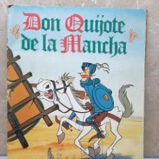 Coleccionismo Álbum: ALBUN DON QUIJOTE DE LA MANCHA PROMOCION DANONE ALBUM DE CROMOS COMPLETO VER FOTOS.. Lote 236910910