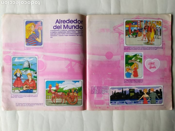 Coleccionismo Álbum: ALBUM DE CROMOS - BARBIE. STICKER ALBUM (Completo) - Foto 4 - 21502551