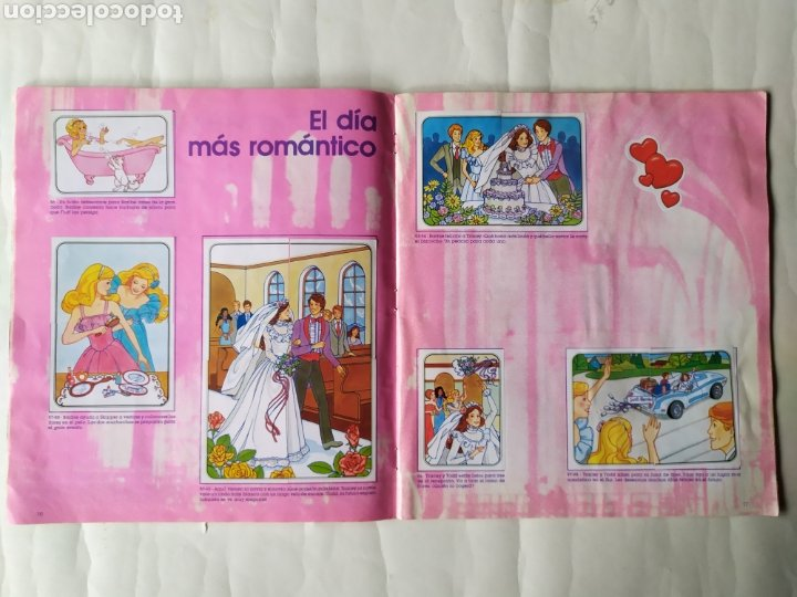 Coleccionismo Álbum: ALBUM DE CROMOS - BARBIE. STICKER ALBUM (Completo) - Foto 10 - 21502551