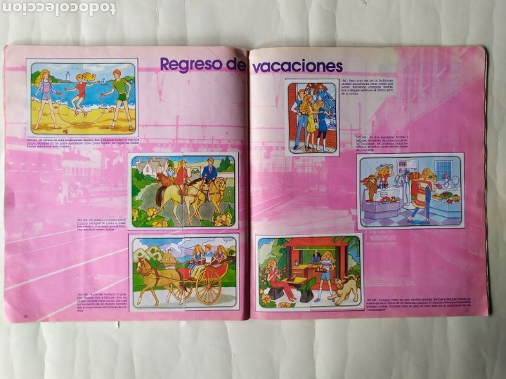 Coleccionismo Álbum: ALBUM DE CROMOS - BARBIE. STICKER ALBUM (Completo) - Foto 15 - 21502551