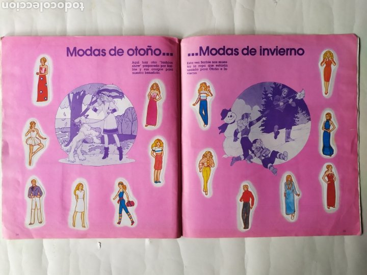Coleccionismo Álbum: ALBUM DE CROMOS - BARBIE. STICKER ALBUM (Completo) - Foto 19 - 21502551