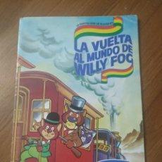Coleccionismo Álbum: ALBUM LA VUELTA AL MUNDO DE WILLY FOG ( DANONE ) COMPLETO. Lote 237166075