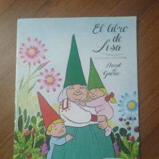 Coleccionismo Álbum: ALBUM EL LIBRO DE LISA ( DAVID EL GNOMO ) DANONE COMPLETO. Lote 237169975