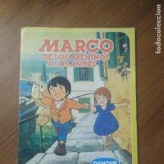 Coleccionismo Álbum: ALBUM MARCO DE LOS APENINOS A LOS ANDES, DANONE COMPLETO. Lote 237170785