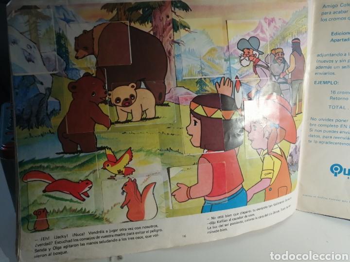 Coleccionismo Álbum: Album de cromos JACKY EL OSO DE TALLAC Ed. Quelcom - Foto 17 - 237412715